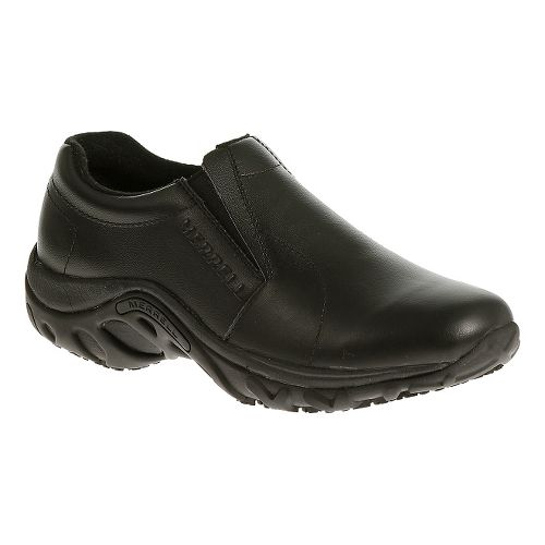 Womens Merrell Jungle Moc Pro Grip Casual Shoe - Black 5