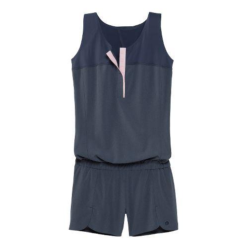 Womens Brooks PureProject Jumper Tank Shorts - Heather Midnight XS