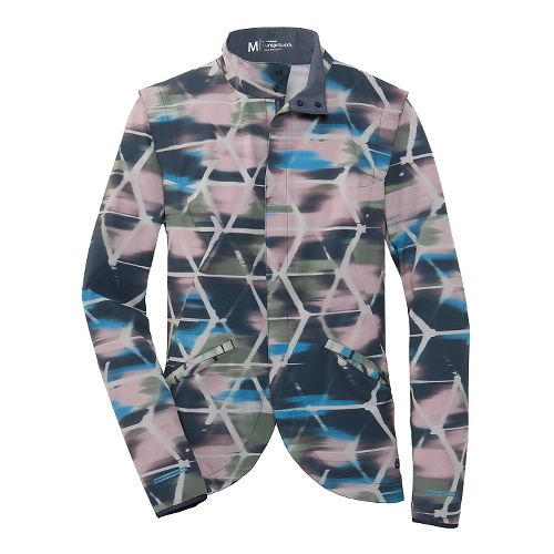 Womens Brooks PureProject II Lightweight Jackets - Watercolor M