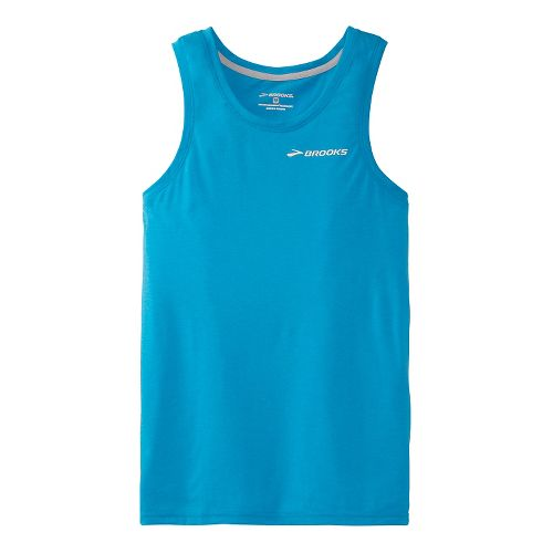 Mens Brooks EZ Tank Technical Top - Atlantic XXL