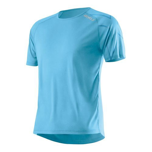 Mens 2XU GHST Short Sleeve Technical Top - Amalfi/Amalfi XL