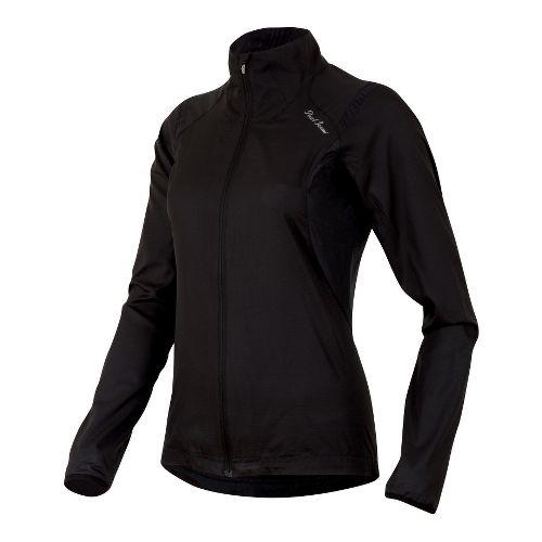 Womens Pearl Izumi Fly Lightweight Jackets - Black XXL