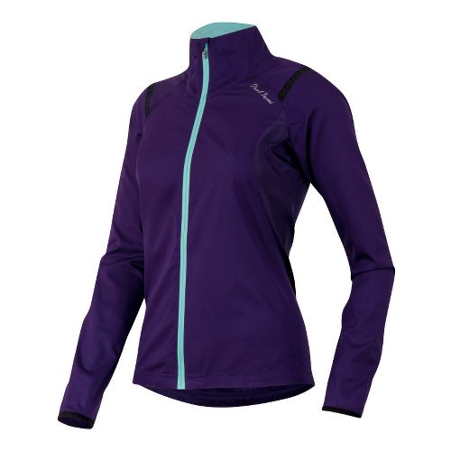 Womens Pearl Izumi Fly Lightweight Jackets - Blackberry XL
