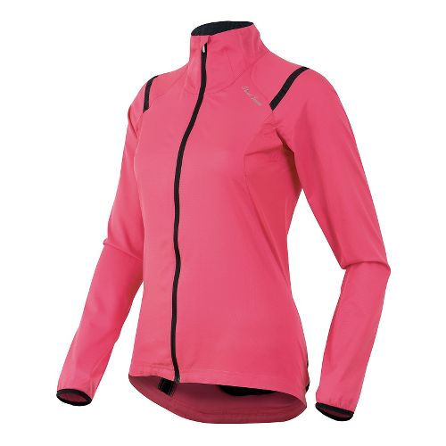 Womens Pearl Izumi Fly Lightweight Jackets - Honeysuckle XL