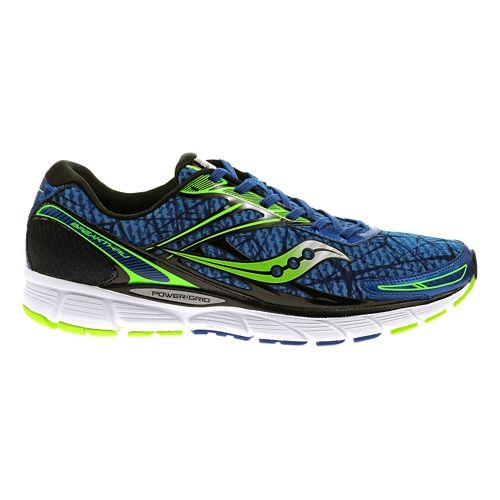 Mens Saucony Breakthru Running Shoe - Blue/Slime 15