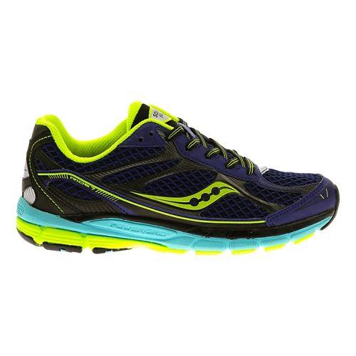 Kids Saucony Ride 7 Running Shoe - Purple/Black 6Y