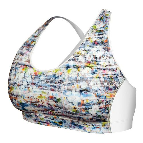 Womens De Soto Femme Riviera Sports Bras - White/Print XS