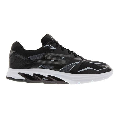 Mens Skechers GO Run Strada Running Shoe - Black / White 12