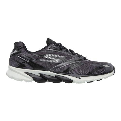 Womens Skechers GO Run 4 Running Shoe - Charcoal / Aqua 6