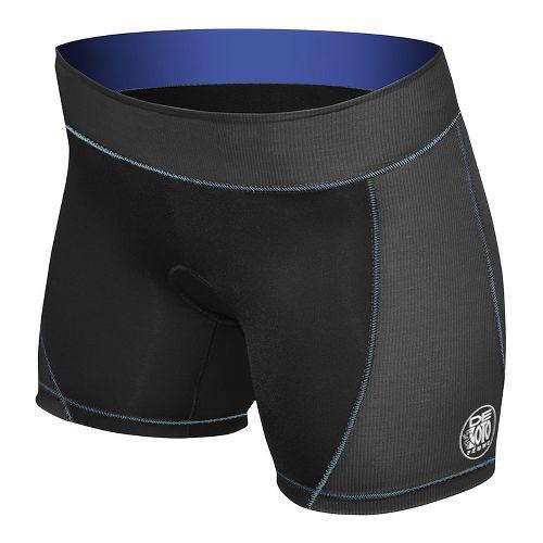 Womens De Soto Femme Forza Tri Low Rise Unlined Shorts - Black/Navy XS