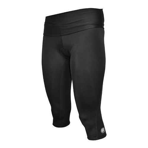 Womens De Soto Femme Carrera Tri Capri Tights - Black XL
