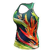 Womens De Soto Carrera Tri Sleeveless & Tank Technical Tops - Bird of Paradise L