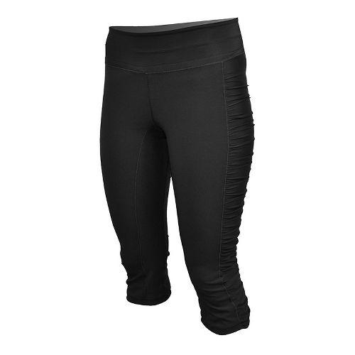 Womens De Soto Femme Run Knicker Capri Tights - Black M