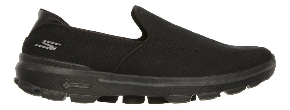 mens skechers go walk 3 athletic walking shoes ebay
