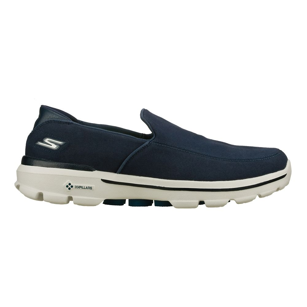 mens skechers go walk 3 athletic walking shoes ebay. Black Bedroom Furniture Sets. Home Design Ideas