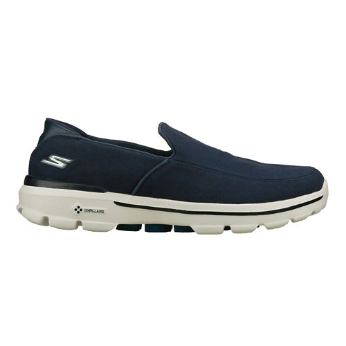 Mens Skechers GO Walk 3 Walking Shoe - Navy 12.5