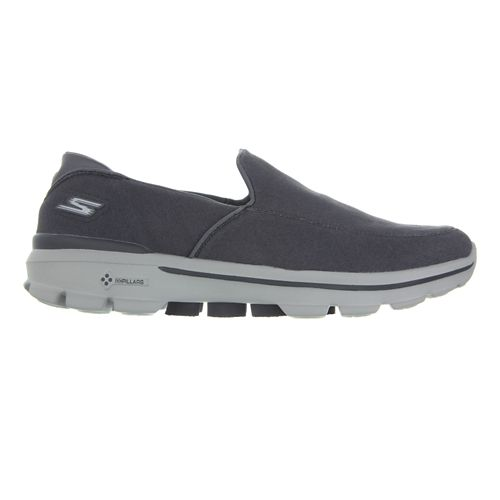 Mens Skechers GO Walk 3 Walking Shoe - Charcoal 10