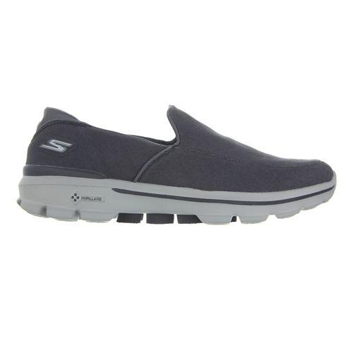 Mens Skechers GO Walk 3 Walking Shoe - Charcoal 8