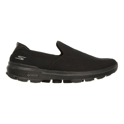 Mens Skechers GO Walk 3 Walking Shoe - Black 12