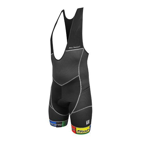 Mens De Soto Riviera Bib Triathlete UniSuits - Black/Mondrian XL