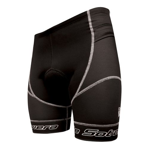 Mens De Soto Riviera Tri Unlined Shorts - Black/Black L