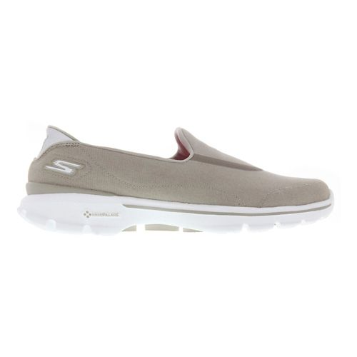 Womens Skechers GO Walk 3 Walking Shoe - Taupe 9