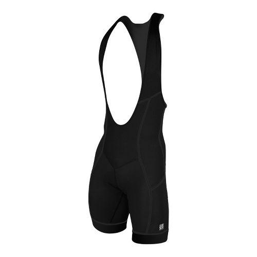 Mens De Soto Carrera Bib Short Triathlete UniSuits - Black L