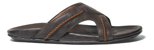 Mens OluKai Mea Ola Slide Sandals Shoe - Dark Java/Dark Java 10