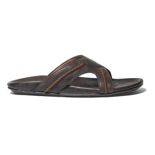 Mens OluKai Mea Ola Slide Sandals Shoe - Dark Java/Dark Java 7