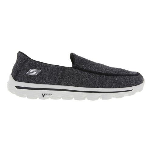Mens Skechers GO Walk 2 - Super Sock Walking Shoe - Charcoal 13