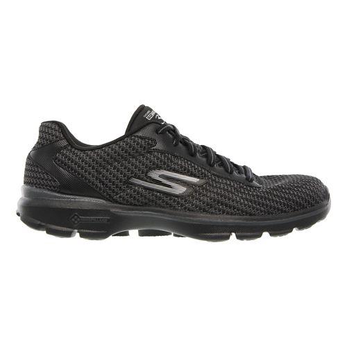 Mens Skechers GO Walk 3 - Fit Knit Walking Shoe - Black 8