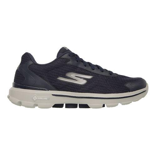 Mens Skechers GO Walk 3 - Fit Knit Walking Shoe - Navy 10.5