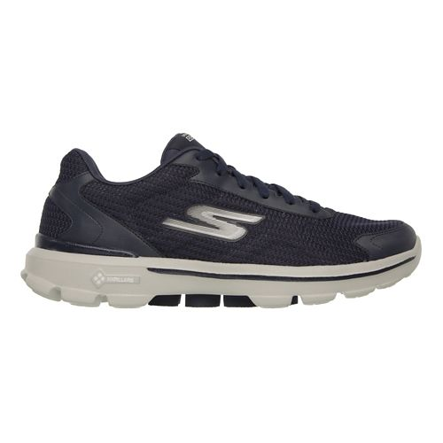 Mens Skechers GO Walk 3 - Fit Knit Walking Shoe - Navy 12.5