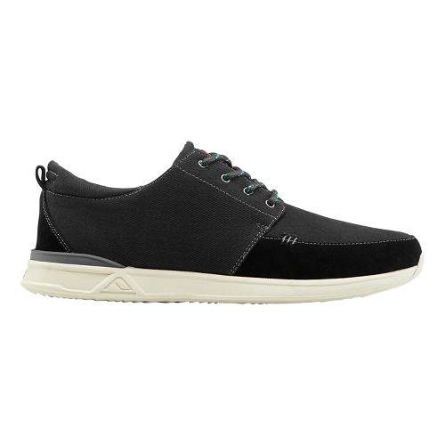 Mens Reef Rover Low Casual Shoe - Black 10