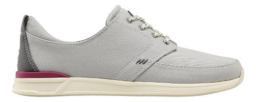 Womens Reef Rover Low Casual Shoe - Grey 8.5