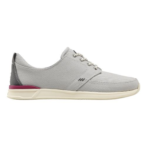 Womens Reef Rover Low Casual Shoe - Grey 8