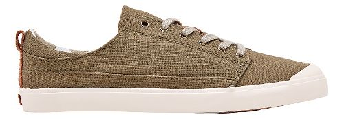 Womens Reef Walled Low Casual Shoe - Olive 7