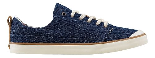 Womens Reef Walled Low Casual Shoe - Denim 9.5