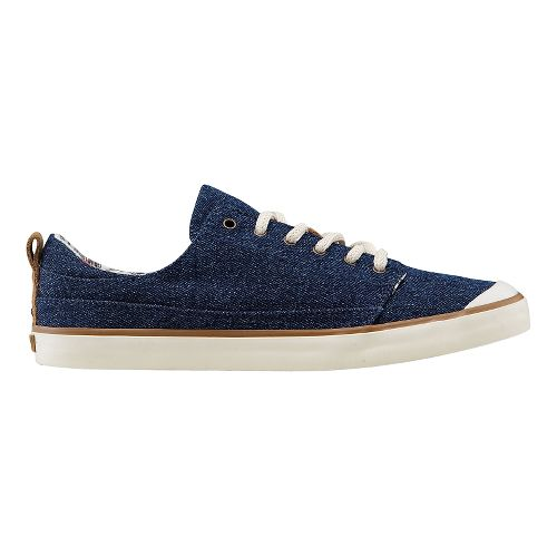 Womens Reef Walled Low Casual Shoe - Denim 10