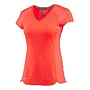 Womens Saucony Speed of Lite Short Sleeve Technical Tops