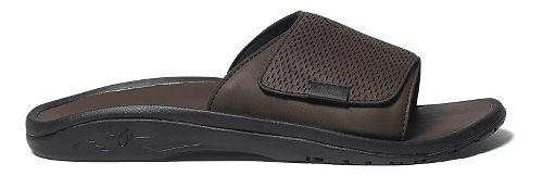 Mens OluKai Kekoa Slide Sandals Shoe - Dark Java/Dark Java 8