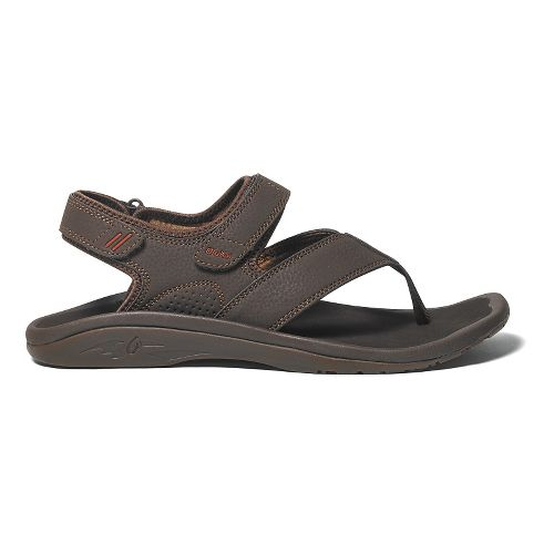 Mens OluKai Ohana Pahu Sandals Shoe - Dark Java/Ray 9