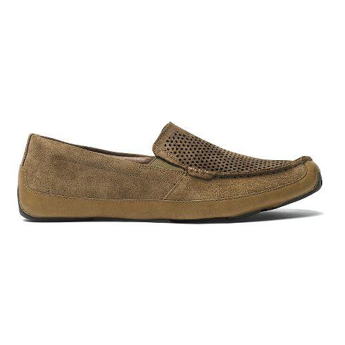 Mens OluKai Akepa Moc Kohana Casual Shoe - Clay/Clay 11
