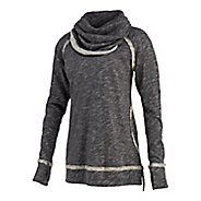 Womens Saucony Easy Cowl Long Sleeve No Zip Non-Technical Tops