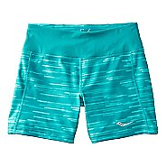 Womens Saucony Scoot Tight Unlined Shorts