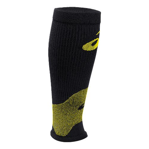 ASICS Rally Leg Sleeves Injury Recovery - Safety Yellow M
