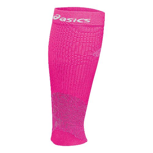 ASICS Rally Chill Leg Sleeves Injury Recovery - Knockout Pink M