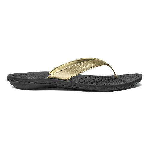 Womens OluKai Ono Sandals Shoe - Mica/Black 5