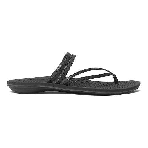 Womens OluKai Maa Kai Sandals Shoe - Black/Black 6