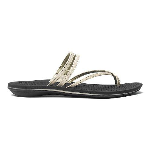 Womens OluKai Maa Kai Sandals Shoe - Bubbly/Black 6